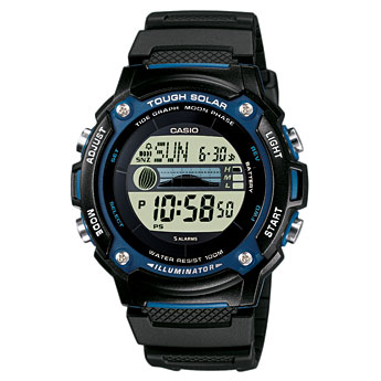 How to set time on Casio W-S210
