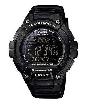 How to set time on Casio W-S220