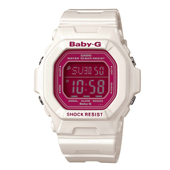 How to set time on Baby-G BG-5601
