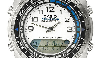 how to set time on casio watch 3191