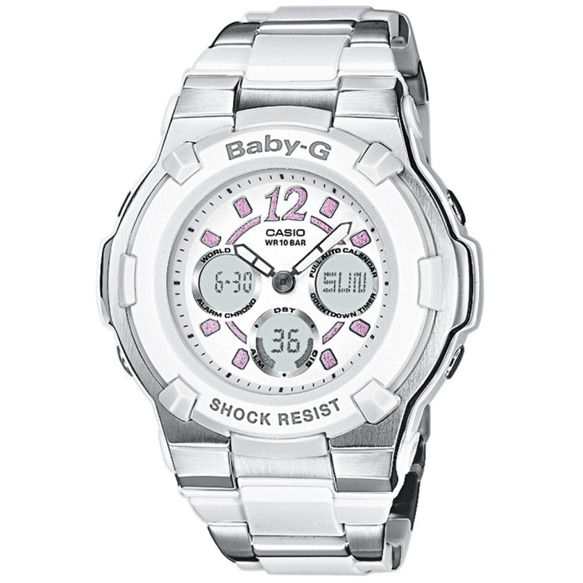 How to set alarm on Baby-G BGA-112