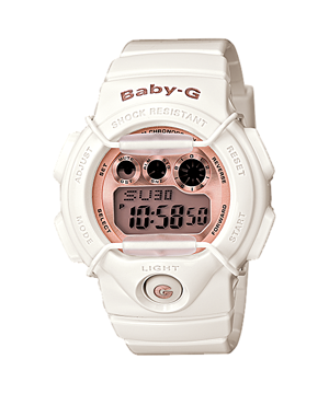 How to set time on Baby-G BG-1005A