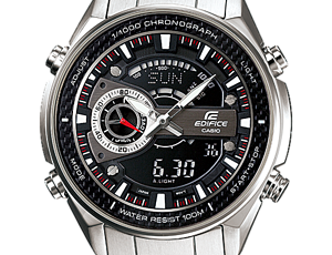 How to set time on Edifice EFA-133