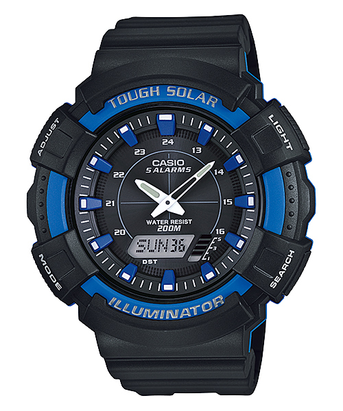How to set time on Casio AD-S800