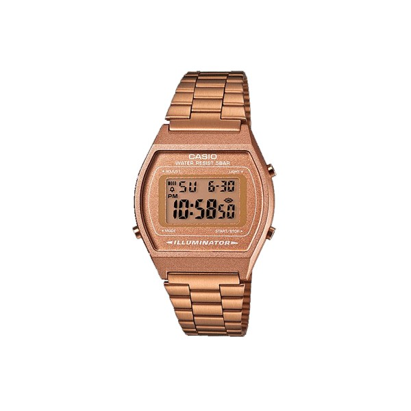 How to set alarm on Casio B640WC