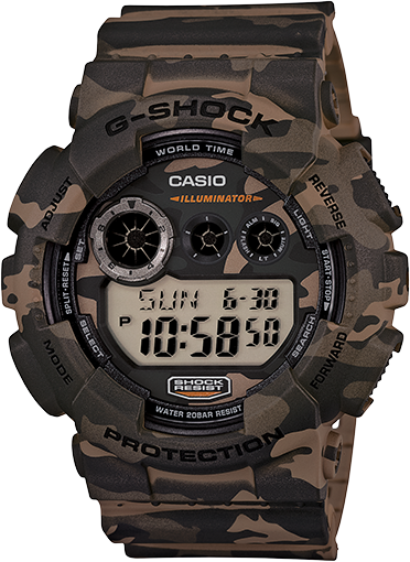Brown G-Shock Watches
