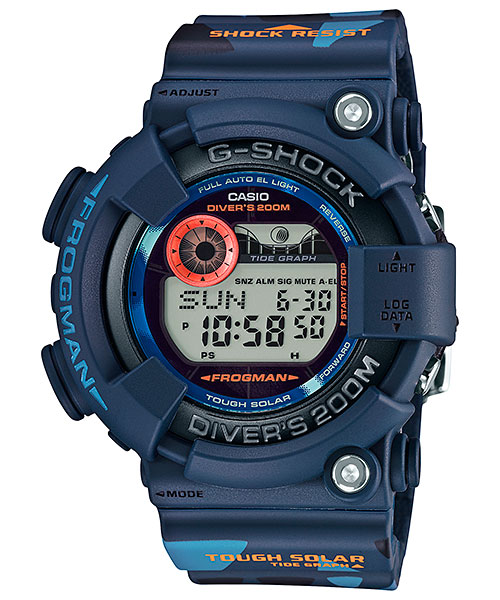 Analog G-Shocks with Tide Graph Function