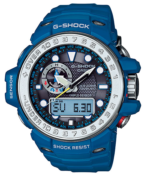 Ana-Didgi G-Shocks with Altitude Function