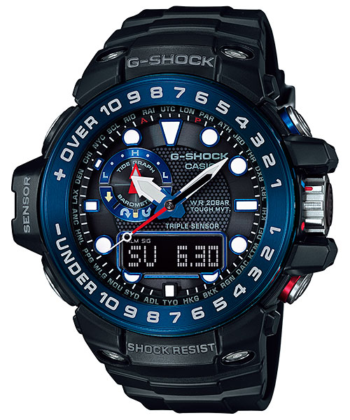 Ana-Didgi G-Shocks with Tide Graph Function