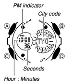 how to set time on g shock 5146