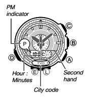 How to set time on ProTrek PRG-550