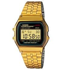 How to set time on Casio A159WGEA