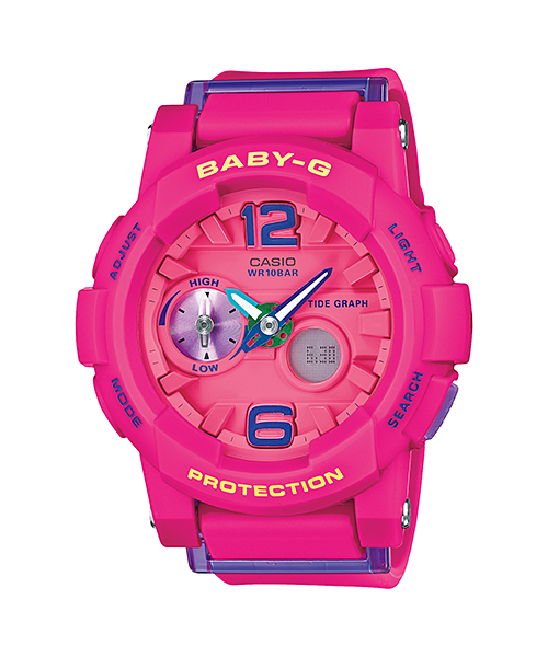 [April 2015] Baby-G yellow BGA-180-9B & pink BGA-180-4B3