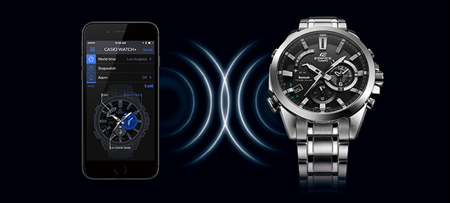 [Video] Edifice EQB-510 Link With Smartphone