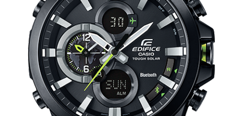 How to set time on Edifice ECB-500 / Casio 5427