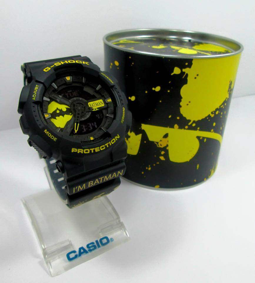 G-Shock Custom GA-110 Batman-6