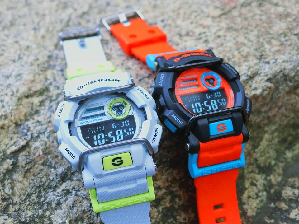 [Live Photos] G-Shock Dusty Neon Series