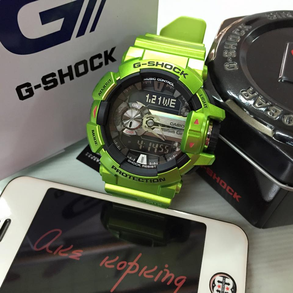 [Live Photos] G-Shock G'MIX GBA-400