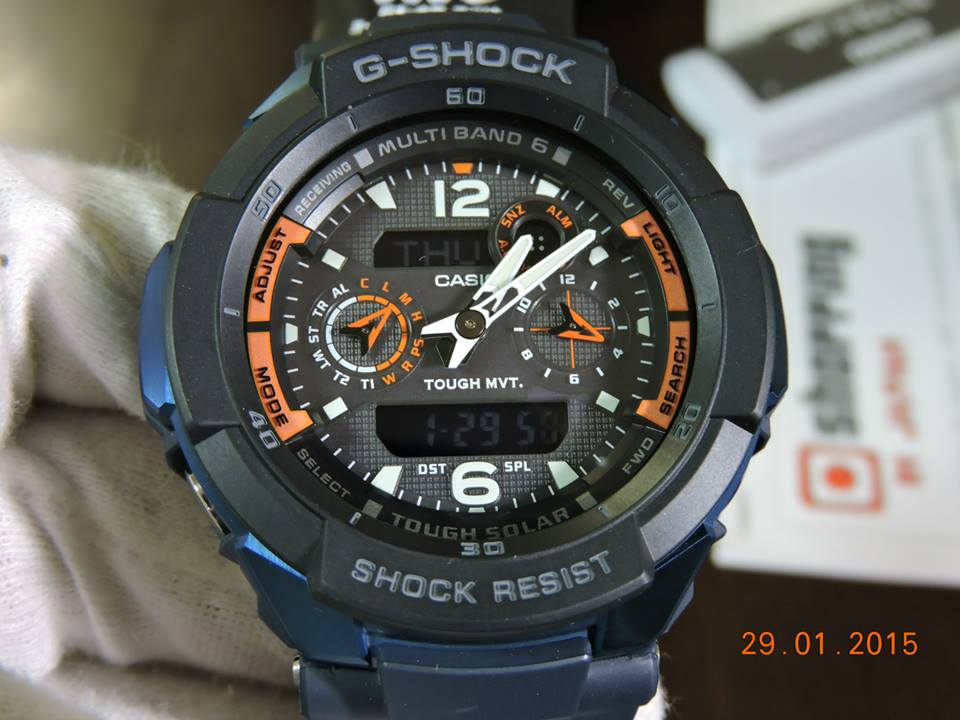 [Live Photos] G-Shock GW-3500B-2AJF