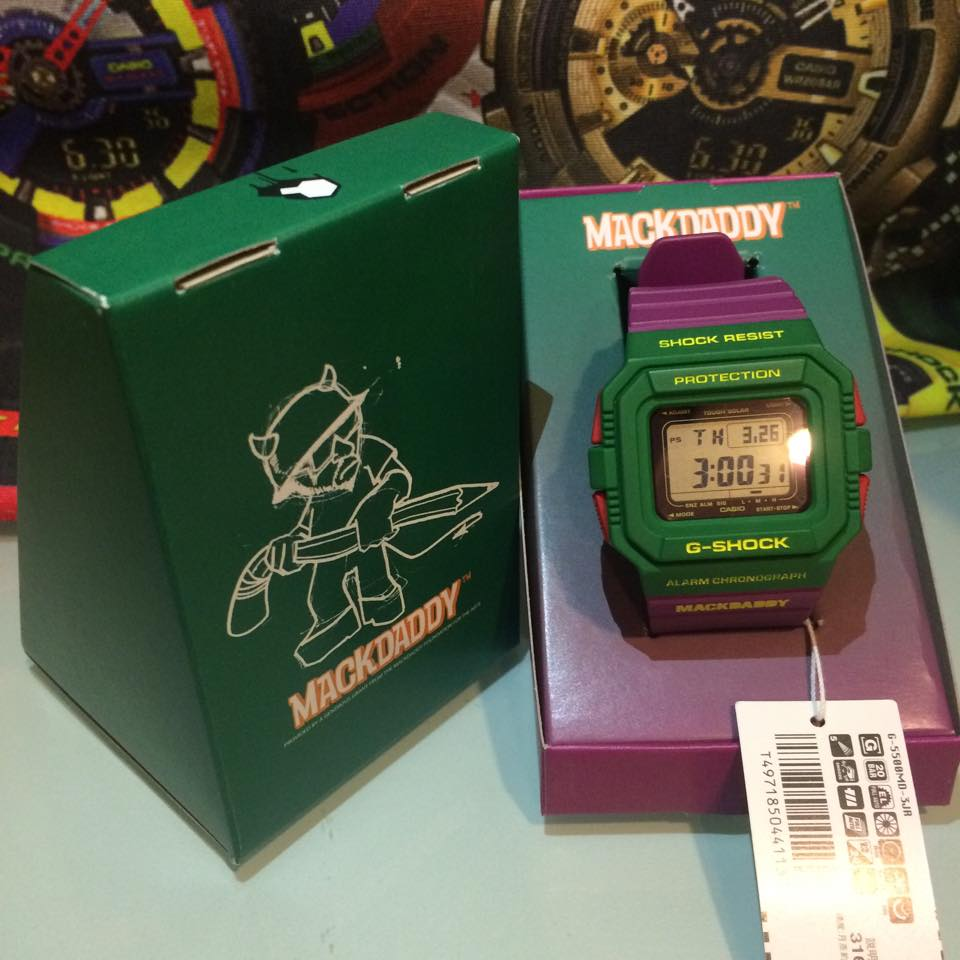 [Live Photos] G-Shock Mackdaddy G-5500