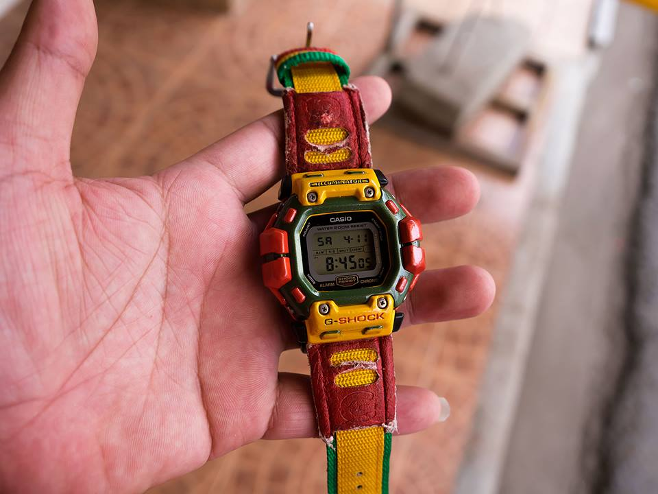 [Live Photos] G-Shock Older