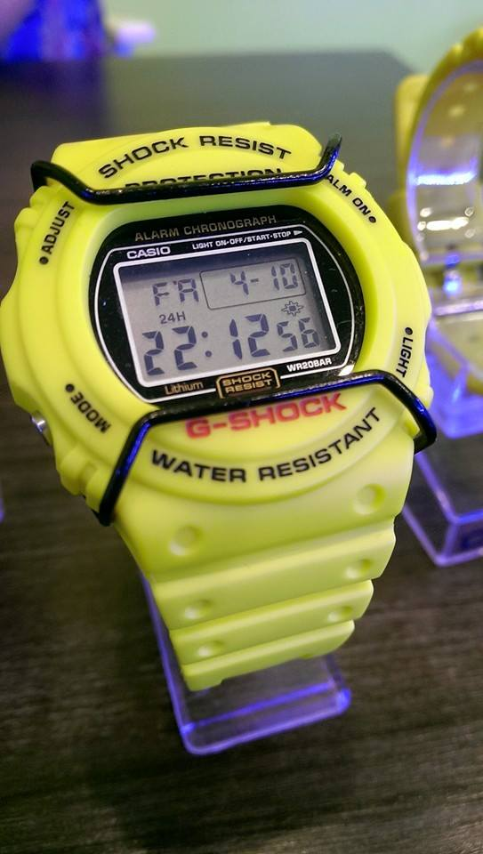 [Live Photos] G-Shock Yellow Collection