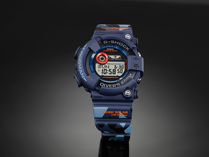 [March 2015] G-Shock blue GF-8250CM-2