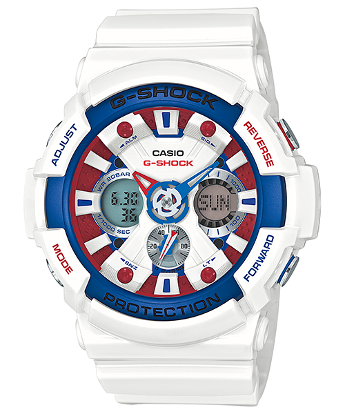 [May 2015] G-shock GA-201TR-7A Limited