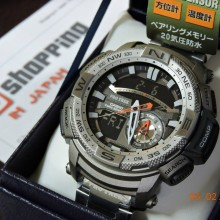 how to set time on casio edifice 5122