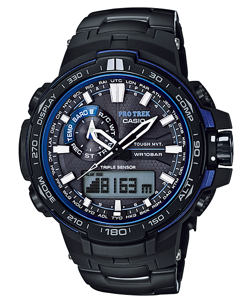 [February 2015] ProTrek blue & black PRW-6000YT-1B
