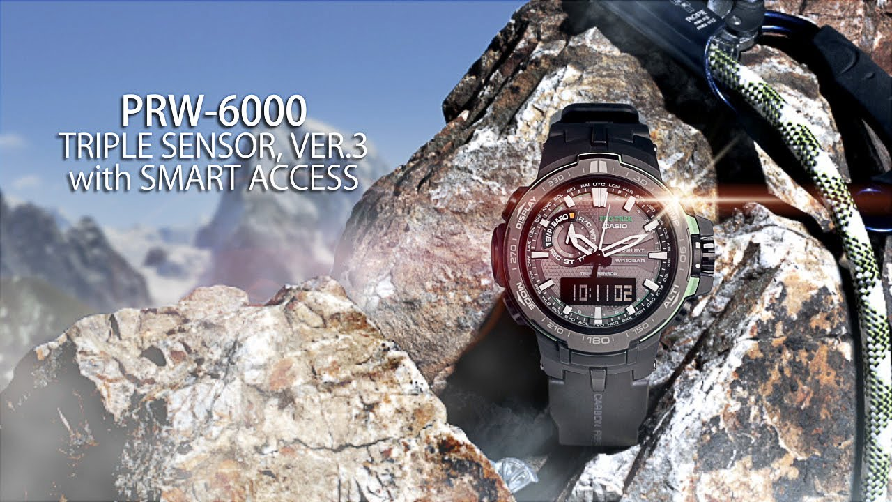 [Video] Protrek PRW-6000 LovinLife