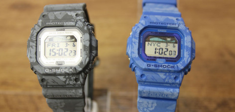 [Live Photos] The latest G-SHOCK & OCEANUS with GPS + standard radio waves