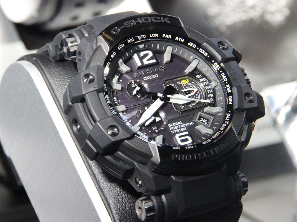 [Live Photos] The world's first GPS G-Shock GPW-1000