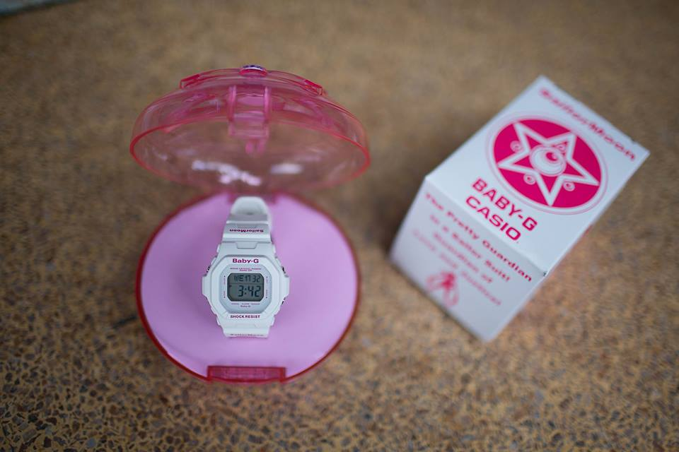 [Live Photos] Baby-G Generation 20th Anniversary SailorMoon