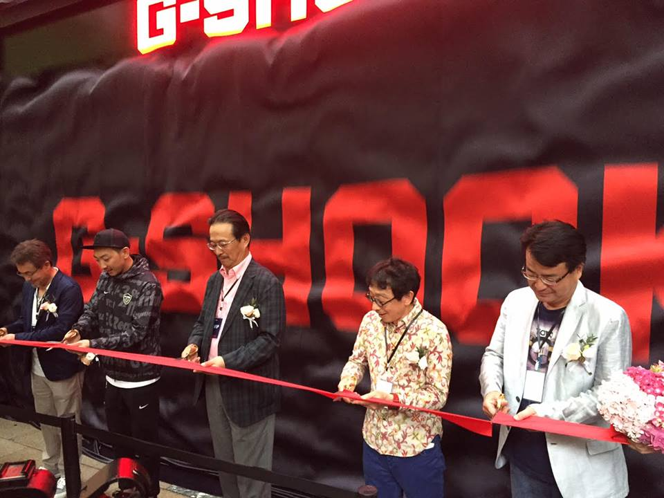 [Live Photos] China's first G-SHOCK STORE