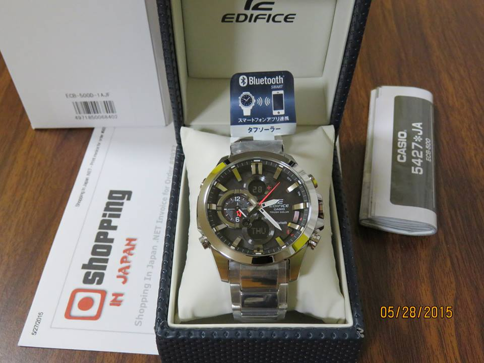 Edifice ECB-500D-1AJF Bluetooth-2