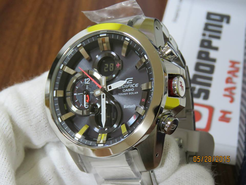 Edifice ECB-500D-1AJF Bluetooth-3