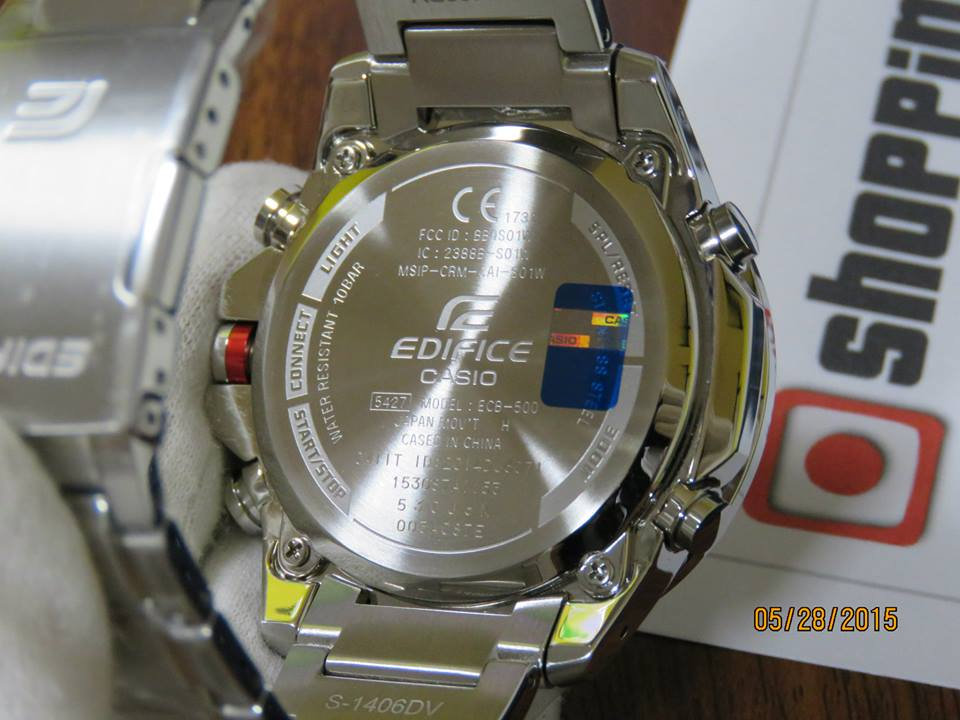 Edifice ECB-500D-1AJF Bluetooth-4