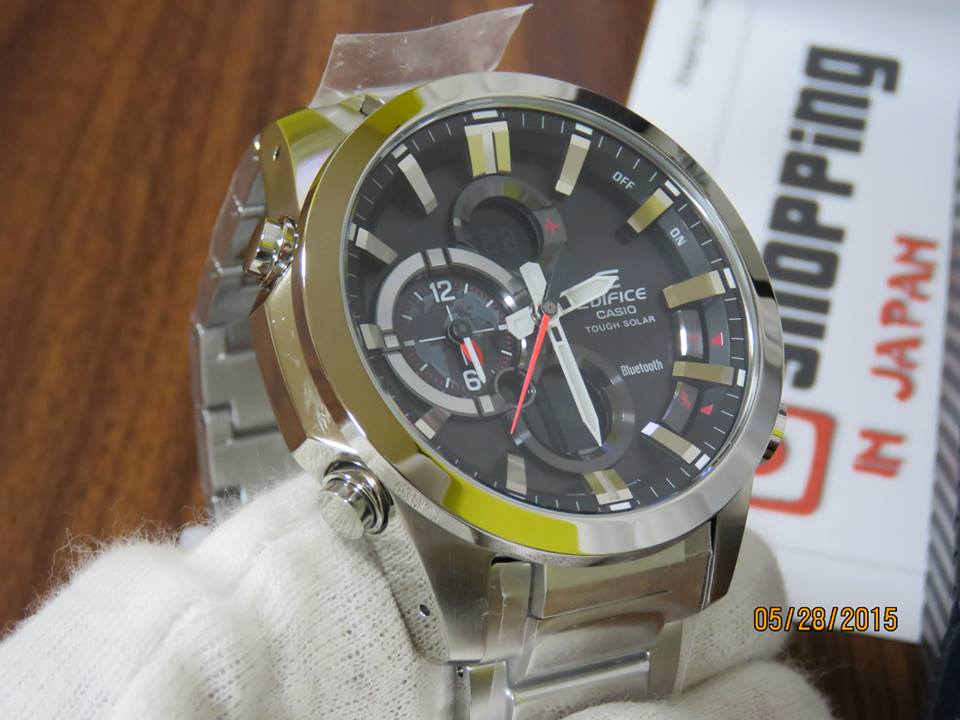 Edifice ECB-500D-1AJF Bluetooth-6