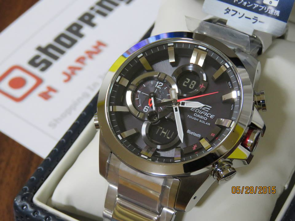 Edifice ECB-500D-1AJF Bluetooth-7