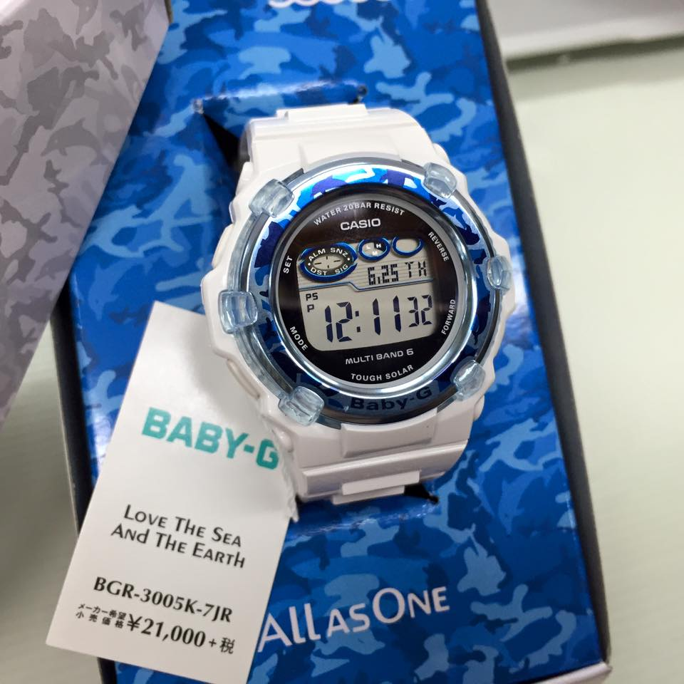 [Live Photos] G-Shock BGR-3005K-7 Love The Sea And The Earth 2015