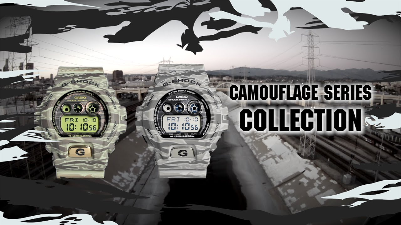 [Video] G-Shock Camouflage Series GD-X6900TC Promo