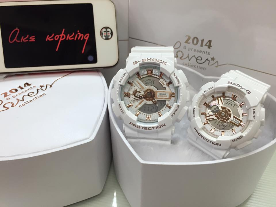 [Live Photos] G-Shock Couple Love Series