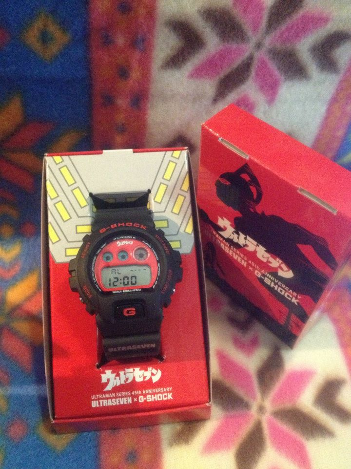 [Live Photos] G-Shock DW-6900FS Ultraseven Series 45th Anniversary Edition