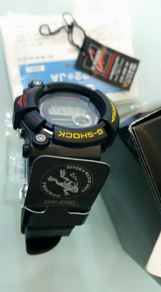 [Live Photos] G-Shock GW-200Z-1JF Frog Final