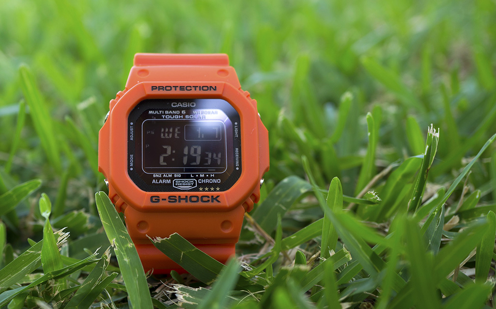 [Live Photos] G-Shock Rescue Orange Series