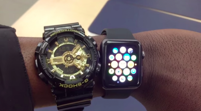 [Video] G-SHOCK VS APPLE WATCH