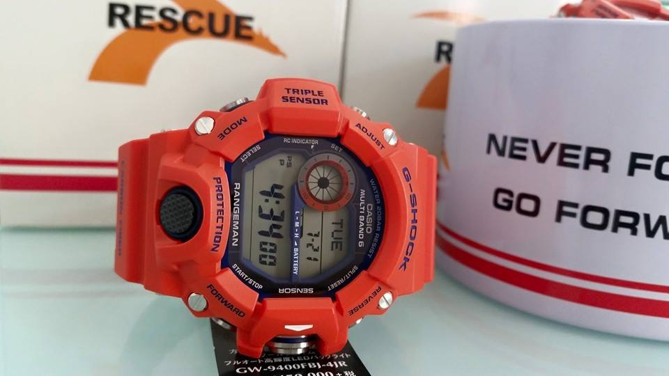 [Live Photos] G-Shock Rangeman KOBE CITY FIRE BUREAU GW‬-9400FBJ-4JR