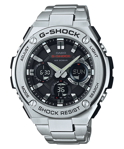 How to set time on G-Shock GST-S100 / Casio 5445