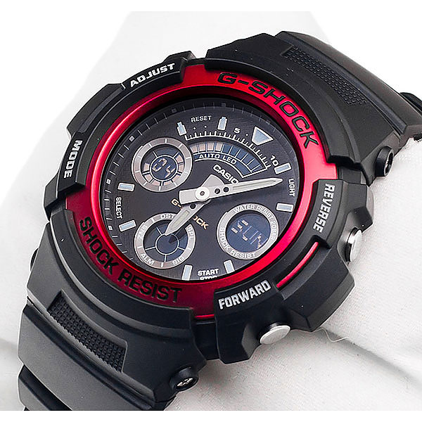 g shock aw 591 how to change time